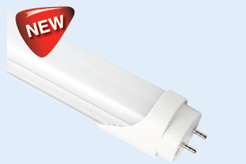 230VAC 9W DAYLIGHT (6000K) FROSTED 2Ft LED T8 1HR EMG.