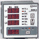 3 PH MULTIFUNCTION METER + PULSED OUTPUT