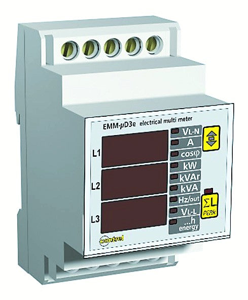 3 PHASE MULTIFUNCTION METER DIN
