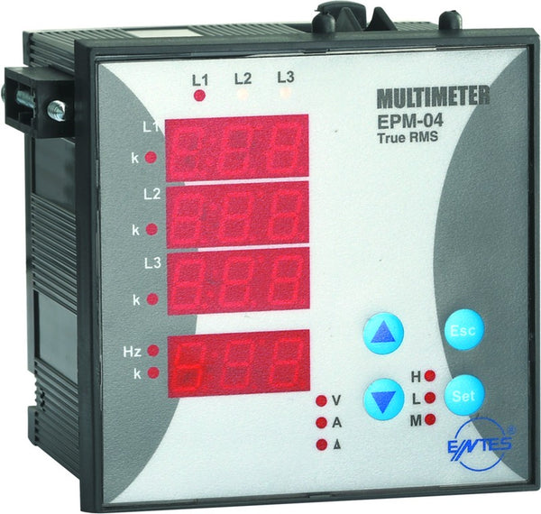3 PHASE V/A MULTIFUNCTION METER 96x96