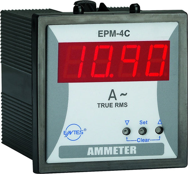 SINGLE PHASE AMMETER 5-1000/5A WITH 1NO OUTPUT 96x96