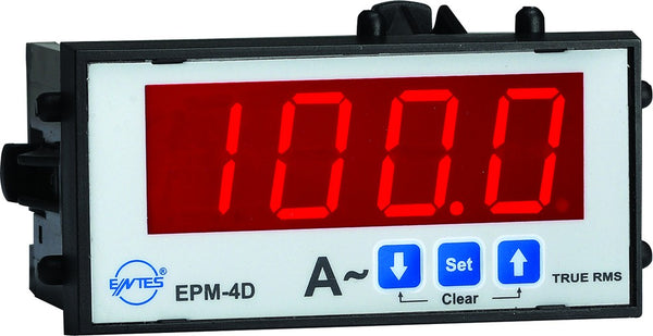 SINGLE PHASE AMMETER 5-1000/5A WITH 1NO OUTPUT DIN