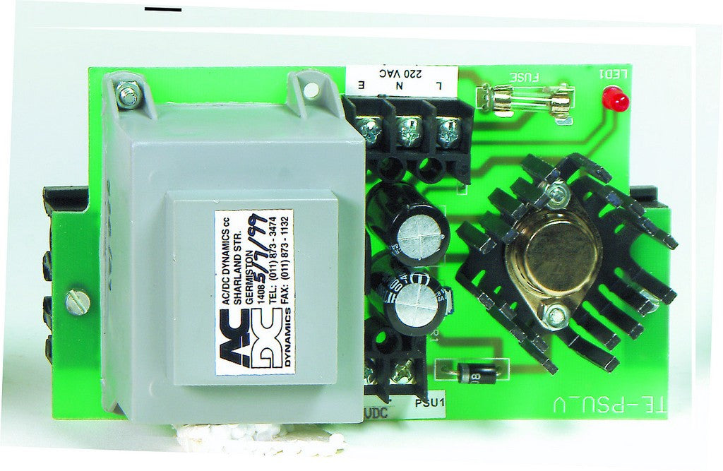 0.1A 230VAC/12VDC DIN PSU REGULATED