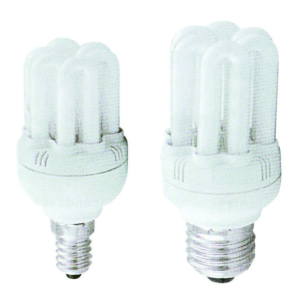 9W 230V ESL WARM WHITE  FLUORESCENT E27