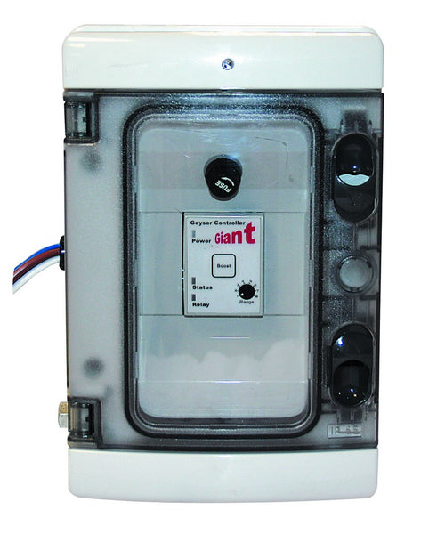 240VAC 1PH PFC AND GEYSER CONTROLLER C/W SURGE PROTECTION