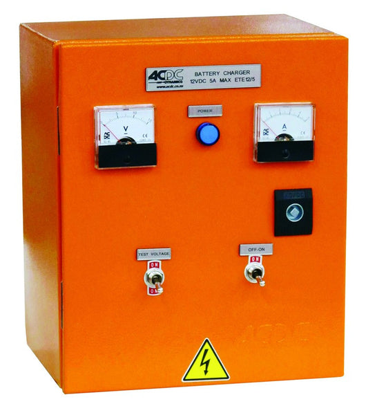 24V/25A BATTERY CHARGER ENCLOSED