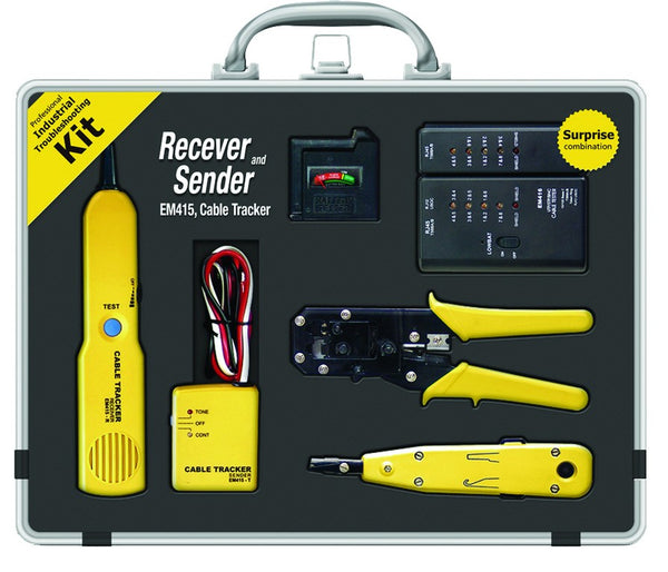 NETWORK KIT CONTAINS WIRE TRACER,NETWORK TESTER,BATT TESTER