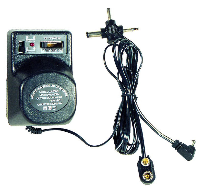 0.5A MULTIVOLT POWER SUPPLY