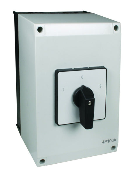 100A 4P ENCLOSED C/O SWITCH IP54