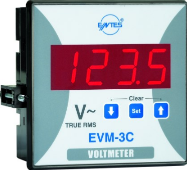 10-600VAC SINGLE PHASE VOLT METER 48x96