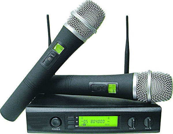 PROFFESIONAL UHF WIRELESS MICROPHONE SYSTEM