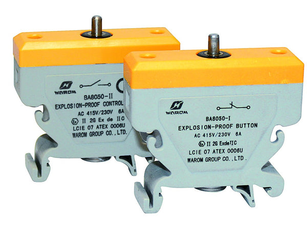 N/O 10A CONTACT BLOCK FOR 8050 RANGE