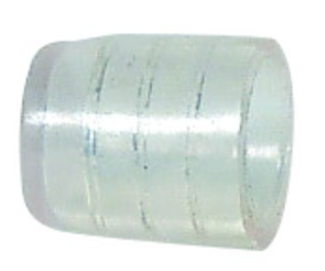 END CAP FOR 2-WIRE FLEXILIGHT 13MM DIA