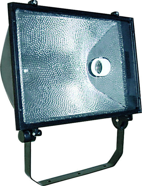 E40 FLOODLIGHT BLACK SYM NO GEAR 410x300x139 IP54