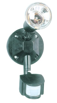 SECURITY LIGHT 2x150W 10M 180DEG SENSE. DELAY 6S-10M