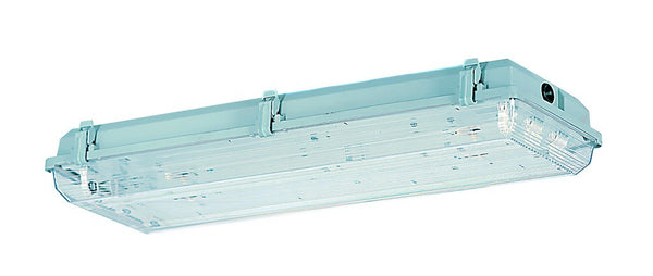 FLUORESCENT FITTING 2x58W 5FT IP65 ELEC. BALLAST