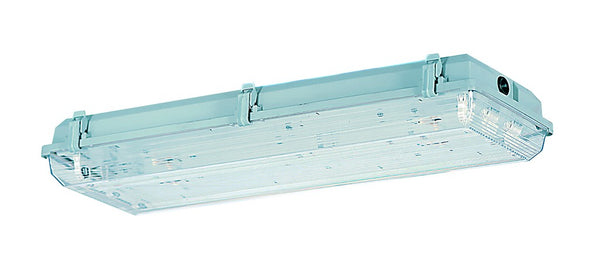 FLUORESCENT FITTING 2x36W 4FT IP65 ELEC. BALLAST