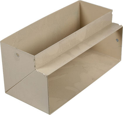HORIZONTAL BEND DOUBLE COMP. SKIRTING CARRIER BEIGE