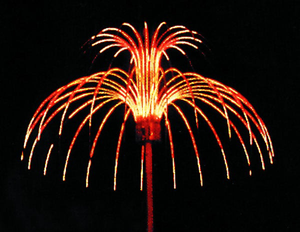 FOREST 2M HEIGHT 4.5M DIA. ELECTRONIC FIREWORK