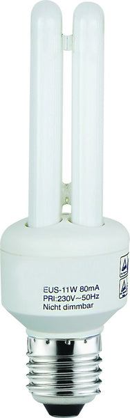 CF LAMP 2U WARM WHITE 48VDC 9W E27