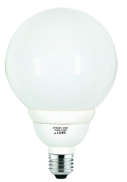 CF LAMP BALL TYPE  WARM WHITE 230V 16W E27
