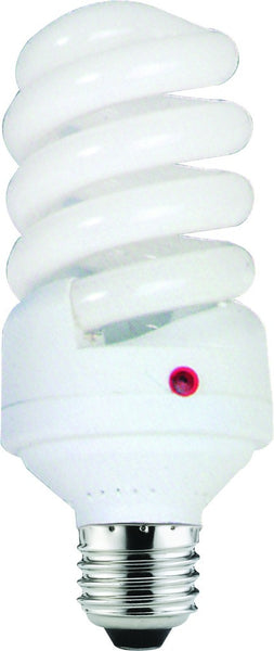 11W CF LAMP E27 WARM WHITE 230VAC WITH DAYLIGHT SENSOR