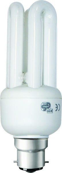 CF LAMP 3U WARM WHITE 230V 15W B22