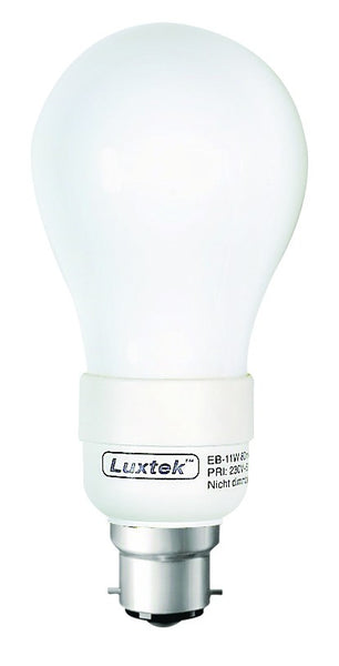 CF LAMP WARM WHITE 230V 9W B22