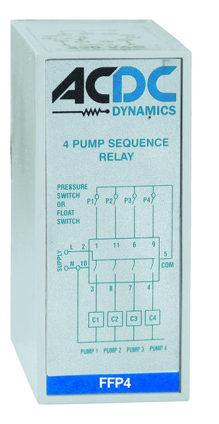 4 PUMP SEQUENCE RELAY