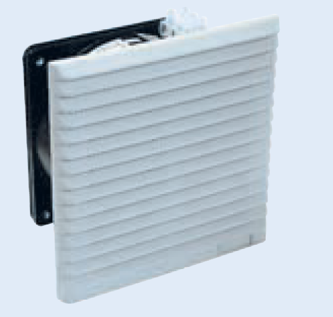 115VAC FAN C/W FILTER AND GRILL 255x255 IP43