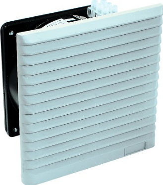 115VAC FAN C/W FILTER AND GRILL 204x204 IP43