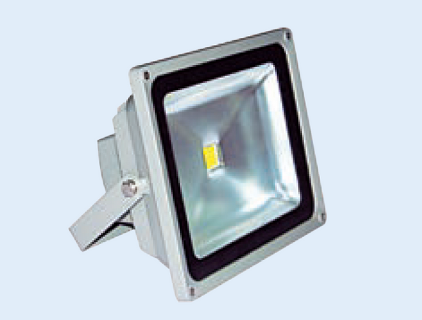 12VDC 20W FLOODLIGHT COOL WHITE 225x185x160mm