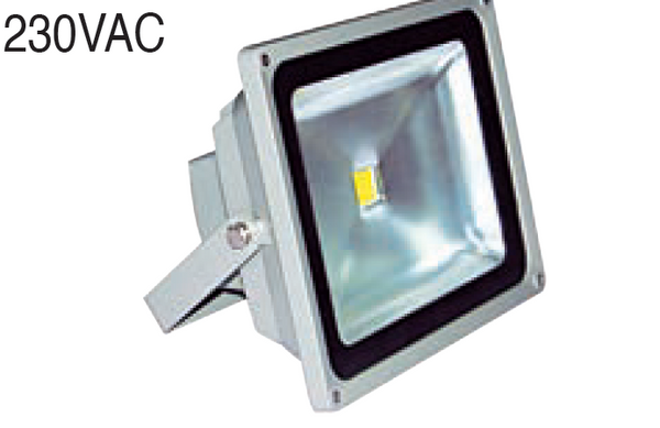 230VAC 20W FLOODLIGHT RED 225x185x160mm