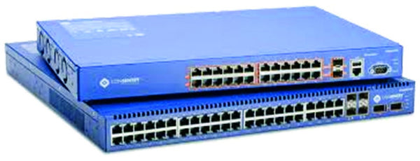 24 PORT 10/100/1000 GB MANAGED 24 PORT POE SWITCH(192W)4X SF