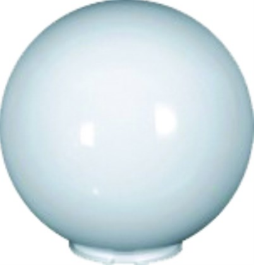 Ø200 PMMA OPAL LAMPSHADE,C/W BASE AND LAMPHOLDER