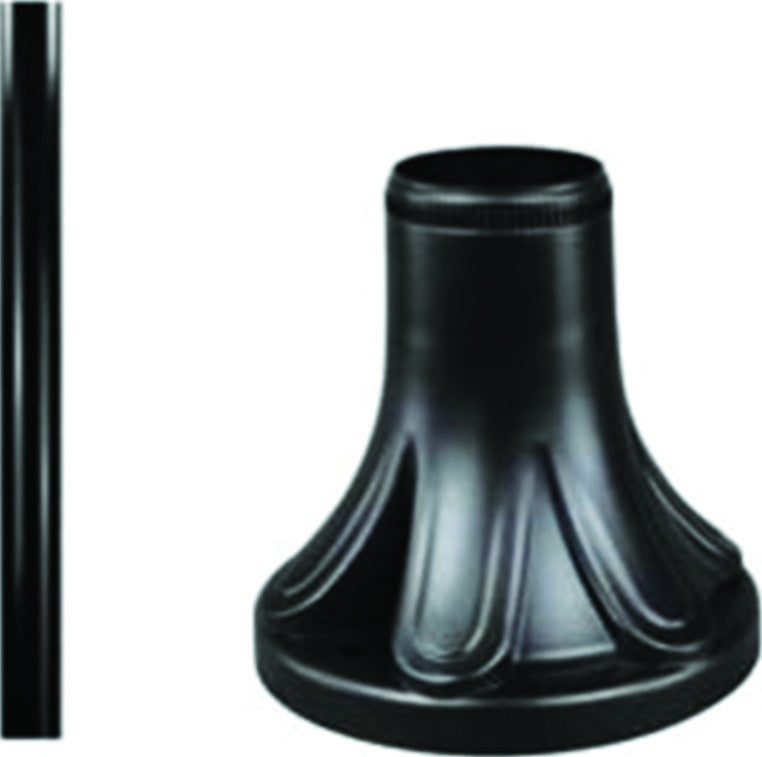 1.8M PVC POLE FOR BAYONET NECK - BLACK (USED WITH GDB-PB170)