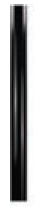 1M PVC POLE FOR BAYONET NECK - BLACK (USED WITH GDB-PB170)