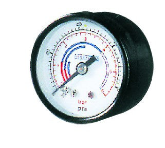 10 BAR PRESSURE GAUGE - REAR FITTING