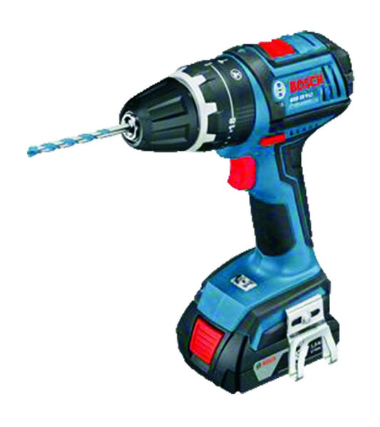 18VDC/2.0AH CORDLESS IMPACT DRILL CHARGER +2 BATTERIES