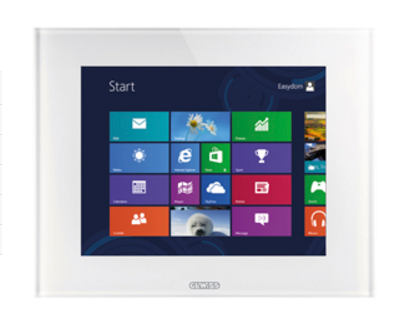 "KNX MASTER ICE TOUCH PANELS 10"" WHITE"