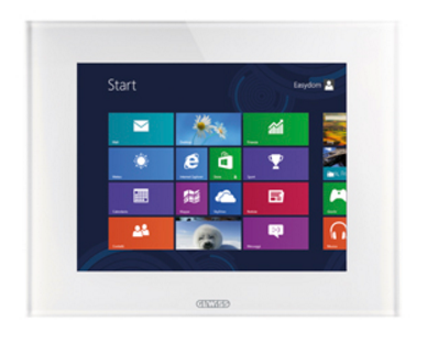 "KNX MASTER ICE TOUCH PANELS 15"" WHITE"