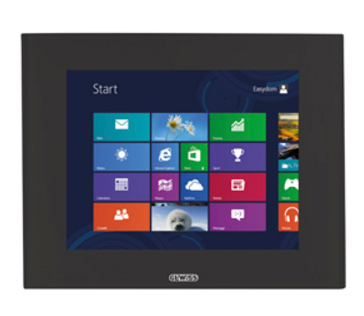 "KNX MASTER ICE TOUCH PANELS 15"" BLACK"