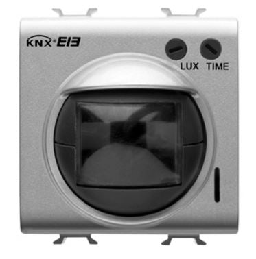 KNX IR MOVEMENT DETECTOR WITH LIGHT SENSOR BLACK