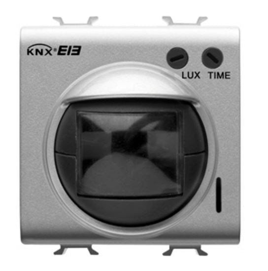 KNX IR MOVEMENT DETECTOR WITH LIGHT SENSOR TITANIUM
