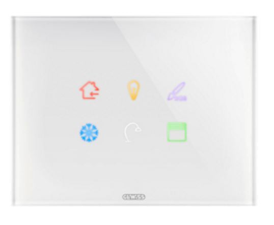 ICE TOUCH COVER PLATE WHITE