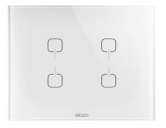ICE TOUCH KNX 4 SYMBOL WHITE - REPLACED BY GW16946CB