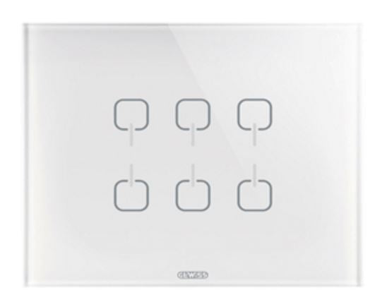 ICE TOUCH KNX 6 SYMBOL WHITE - REPLACED BY GW16946CB