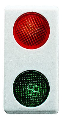 RED/GREEN DOUBLE LIGHT - 12-24VAC LAMP