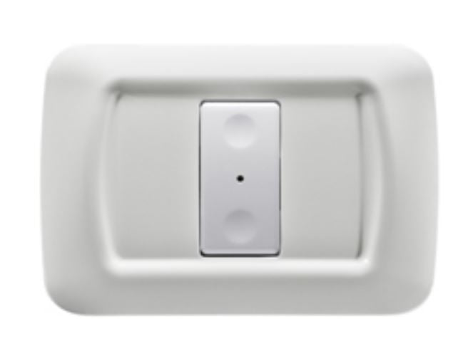 1-CH RF PUSH-BUTTON PANEL WHITE