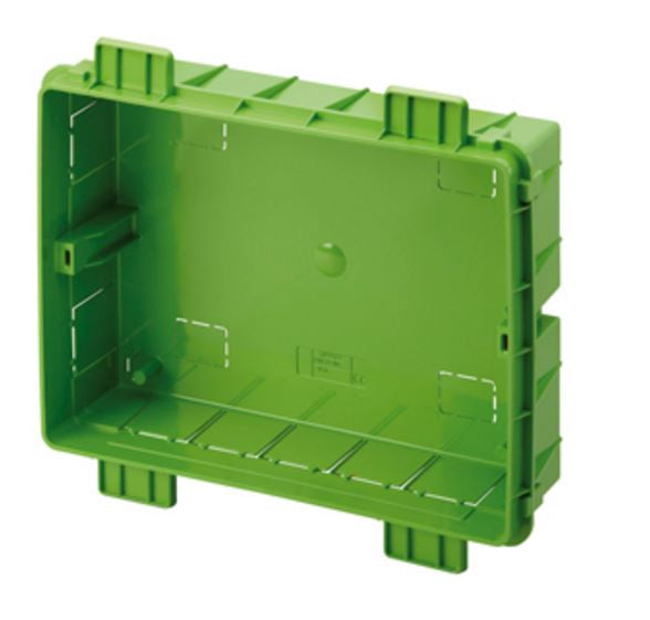 FLUSH MOUNT BOX DRY WALL 10""